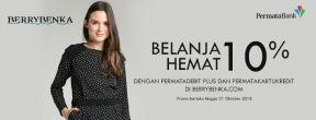 Hemat 10% dengan Permata Kartu Kredit di Berrybenka.com