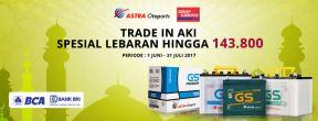 Promo Lebaran Diskon Trade In Aki Hingga 143.800 dengan Kartu Kredit BRI dan BCA