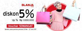 Promo Voucher Ramadhan Blanja.com - Voucher Semangat