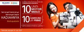 Belanja dengan Kartu Kredit BNI dan Bawa Pulang NMAX