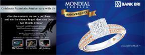 Kumpulkan Kupon di Spesial Mondial Anniversary Berhadiah Mercedes Benz