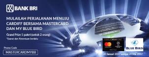 Kartu Kredit BRI MasterCard Promo Road to Cardiff