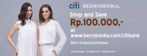 Belanja dan Hemat 100ribu di Berrybenka dengan Kartu Kredit Citi