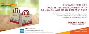 GRATIS Reusable Tote Bag dari Danamon American Express Card