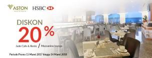 Diskon 20% di Aston Hotel Semarang dengan Kartu Kredit HSBC