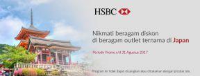 Promo Berbagai Merchant di Jepang dari Kartu Kredit HSBC