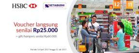 Gratis Voucher di Setiabudhi Supermarket dengan Kartu Kredit HSBC