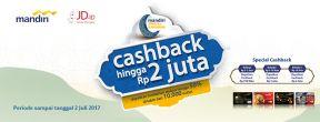 Promo Spesial Ramadhan Mandiri Kartu Kredit Berhadiah Cashback dan Voucher Belanja JD.id