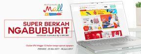 Promo Ramadhan! Diskon s.d 500ribu di Mataharimall.com dengan Mandiri Kartu Kredit