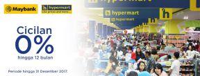 Cicilan 0% s.d 12 Bulan di Hypermart dengan Kartu Kredit Maybank