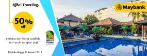 Diskon 50% di Risata Bali Resort & Spa dengan Maybank Kartu Kredit