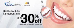 Diskon Hingga 30% di CBC Dental Center dengan Kartu Kredit Mega