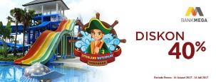 Diskon 40% Citraland WaterPark Denpasar dengan Kartu Kredit Mega