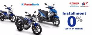 Promo Cicilan 0% Motor Yamaha dengan Kartu Kredit Panin