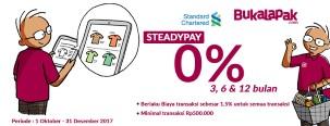 Cicilan 0% di Bukalapak dengan Kartu Kredit Standard Chartered