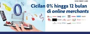 Cicilan 0% di Berbagai Merchant dengan Kartu Kredit UOB