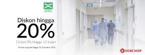 Diskon Hingga 20% + Cicilan 0% hingga 12 bulan di Rumah Sakit Khusus Bedah Bina Estetika dengan Kartu Kredit OCBC NISP