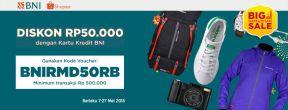 Promo Ramadhan Shopee Diskon 50.000 dengan Kartu Kredit BNI