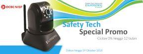Safety Tech Special Promo di SuperSpring dengan Kartu Kredit OCBC NISP