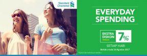 Ekstra Diskon Hingga 7% di Blibli dengan Kartu Kredit Standard Chartered