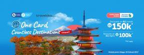 Diskon s.d 150ribu untuk Tiket Pesawat dan Hotel di Traveloka dengan Kartu Kredit Standard Chartered