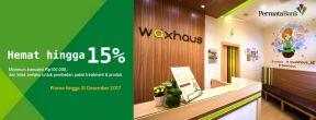 Hemat 15% di Waxhaus dengan Kartu Kredit Permata