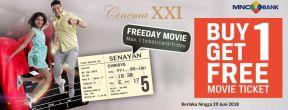 XXI Freeday Movie dengan Kartu Kredit MNC Bank